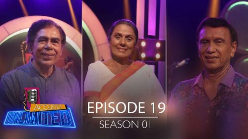 Acoustica Unlimited with Felix Anton & Chandra Kumara Kandanarachchi & Srimathi Thilakarathne - 29-09-2019